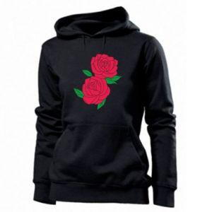 Damska bluza Różowe róże