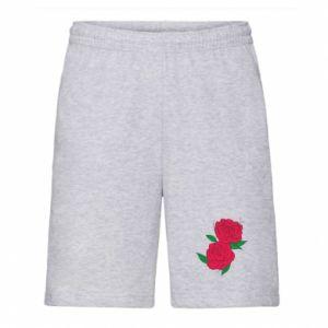 Męskie szorty Różowe róże