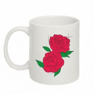 Kubek 330ml Różowe róże