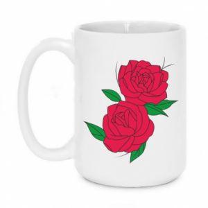 Mug 450ml Pink roses