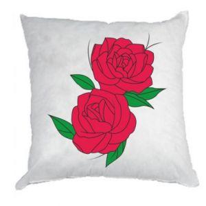 Poduszka Różowe róże