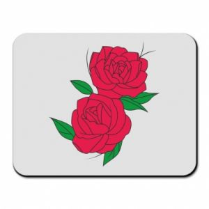 Mouse pad Pink roses