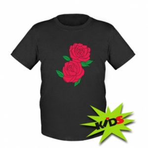 Koszulka dziecięca Różowe róże