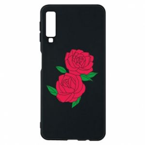 Phone case for Samsung A7 2018 Pink roses