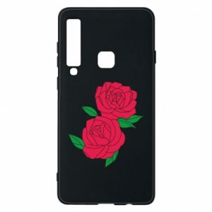 Phone case for Samsung A9 2018 Pink roses