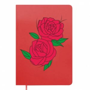 Notepad Pink roses