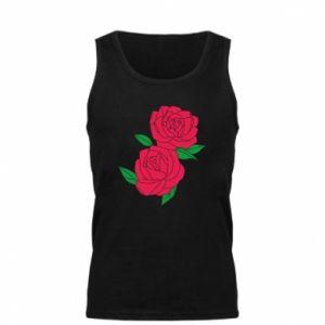 Męska koszulka Różowe róże