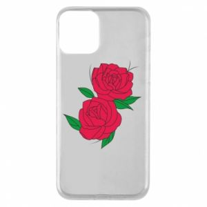 Phone case for iPhone 11 Pink roses