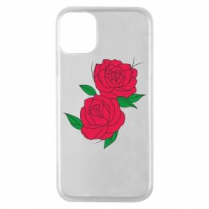 Phone case for iPhone 11 Pro Pink roses