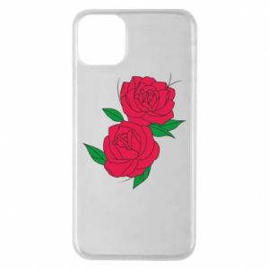 Phone case for iPhone 11 Pro Max Pink roses