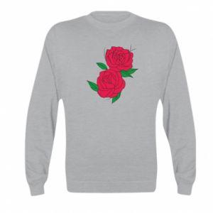 Bluza dziecięca Różowe róże