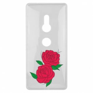 Sony Xperia XZ2 Case Pink roses