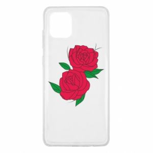 Samsung Note 10 Lite Case Pink roses