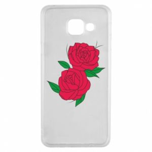 Samsung A3 2016 Case Pink roses