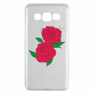Samsung A3 2015 Case Pink roses