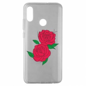 Huawei Honor 10 Lite Case Pink roses