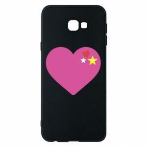Phone case for Samsung J4 Plus 2018 Pink heart