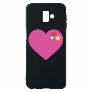 Phone case for Samsung J6 Plus 2018 Pink heart