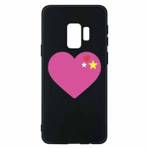 Phone case for Samsung S9 Pink heart