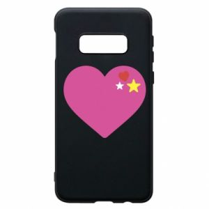 Phone case for Samsung S10e Pink heart