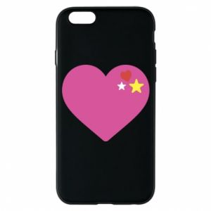 Phone case for iPhone 6/6S Pink heart