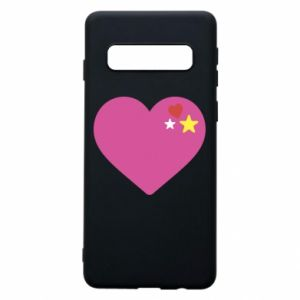 Phone case for Samsung S10 Pink heart