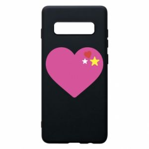 Phone case for Samsung S10+ Pink heart
