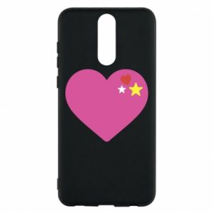 Phone case for Huawei Mate 10 Lite Pink heart