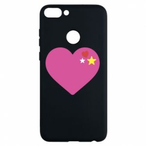Phone case for Huawei P Smart Pink heart