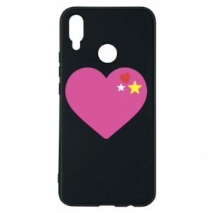 Phone case for Huawei P Smart Plus Pink heart