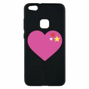 Etui na Huawei P10 Lite Różowe serce