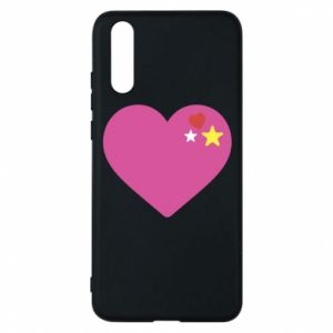 Phone case for Huawei P20 Pink heart