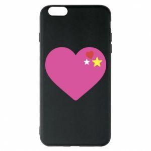 Etui na iPhone 6 Plus/6S Plus Różowe serce