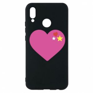 Phone case for Huawei P20 Lite Pink heart