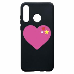 Phone case for Huawei P30 Lite Pink heart