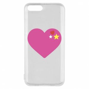 Phone case for Xiaomi Mi6 Pink heart