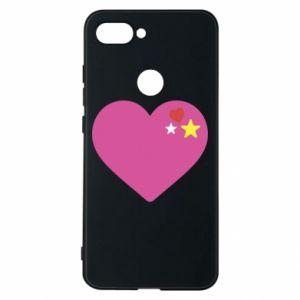 Etui na Xiaomi Mi8 Lite Różowe serce