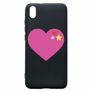 Phone case for Xiaomi Redmi 7A Pink heart