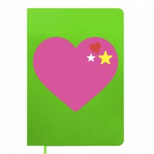 Notepad Pink heart