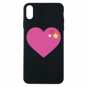Phone case for iPhone Xs Max Pink heart
