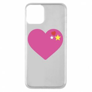 Phone case for iPhone 11 Pink heart