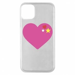 Phone case for iPhone 11 Pro Pink heart