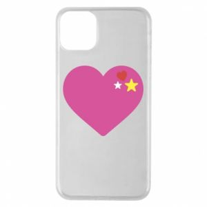 Phone case for iPhone 11 Pro Max Pink heart