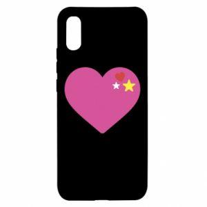 Etui na Xiaomi Redmi 9a Różowe serce
