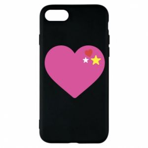 Phone case for iPhone 8 Pink heart
