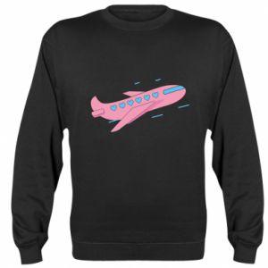 Bluza Różowy samolot