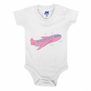 Body dla dzieci Różowy samolot