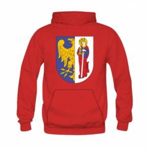 Kid's hoodie Ruda Slaska arms