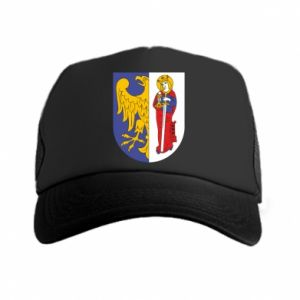 Trucker hat Ruda Slaska arms