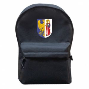 Backpack with front pocket Ruda Slaska arms